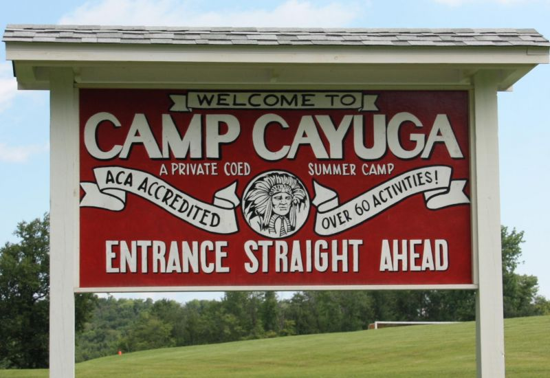 driving directions to camp cayuga
